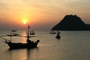 Patong Phuket Beach Sunset
